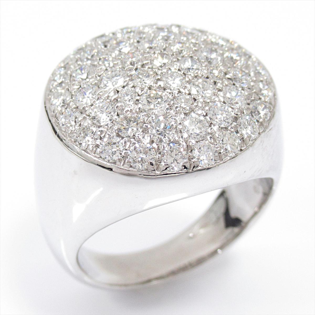 人気特価 【】 ジュエリー 美品 ダイヤモンドリング 指輪 レディース ブランドオフ K18WG (750) K18 ホワイトゴールド x ダイヤモンド (2.01ct) | JEWELRY リング K18 18K 18金 ダイヤ リング 美品 ブランドオフ, 画材、額縁、コピックの「風の門」:b85ceac8 --- greencard.progsite.com