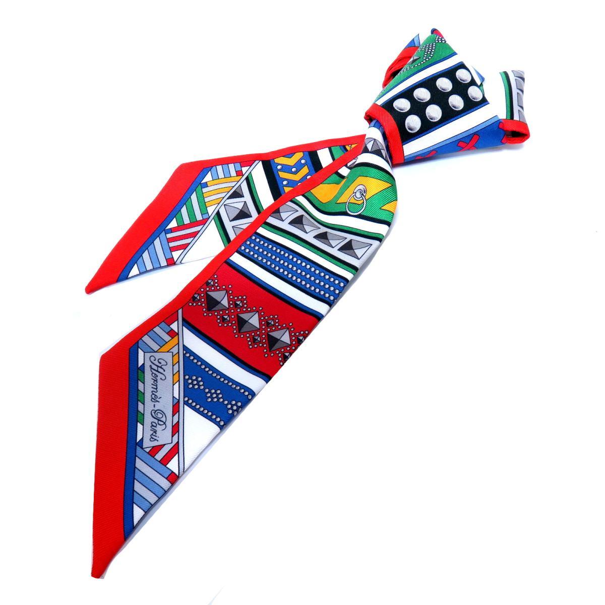 エルメス トゥイリー スカーフ レディース シルク マルチカラー | HERMES スカーフ ツイリー 新品 ブランドオフ