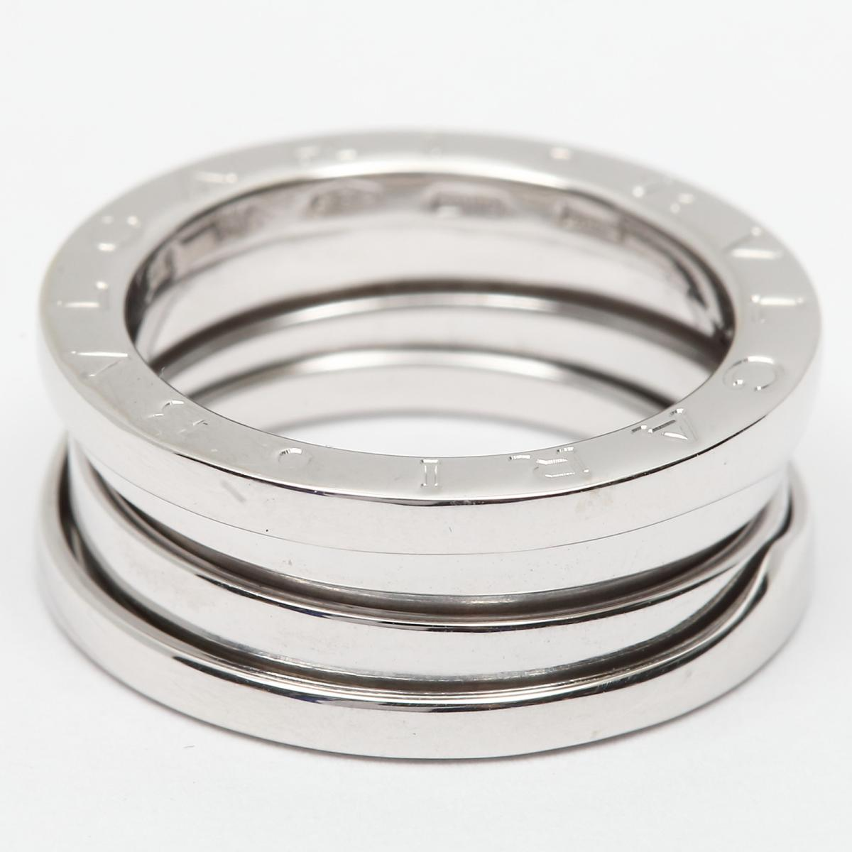 d7a0b5d8ec18 ... ブルガリB-zero1リングSサイズビーゼロワン指輪レディースK18WG(750 ...