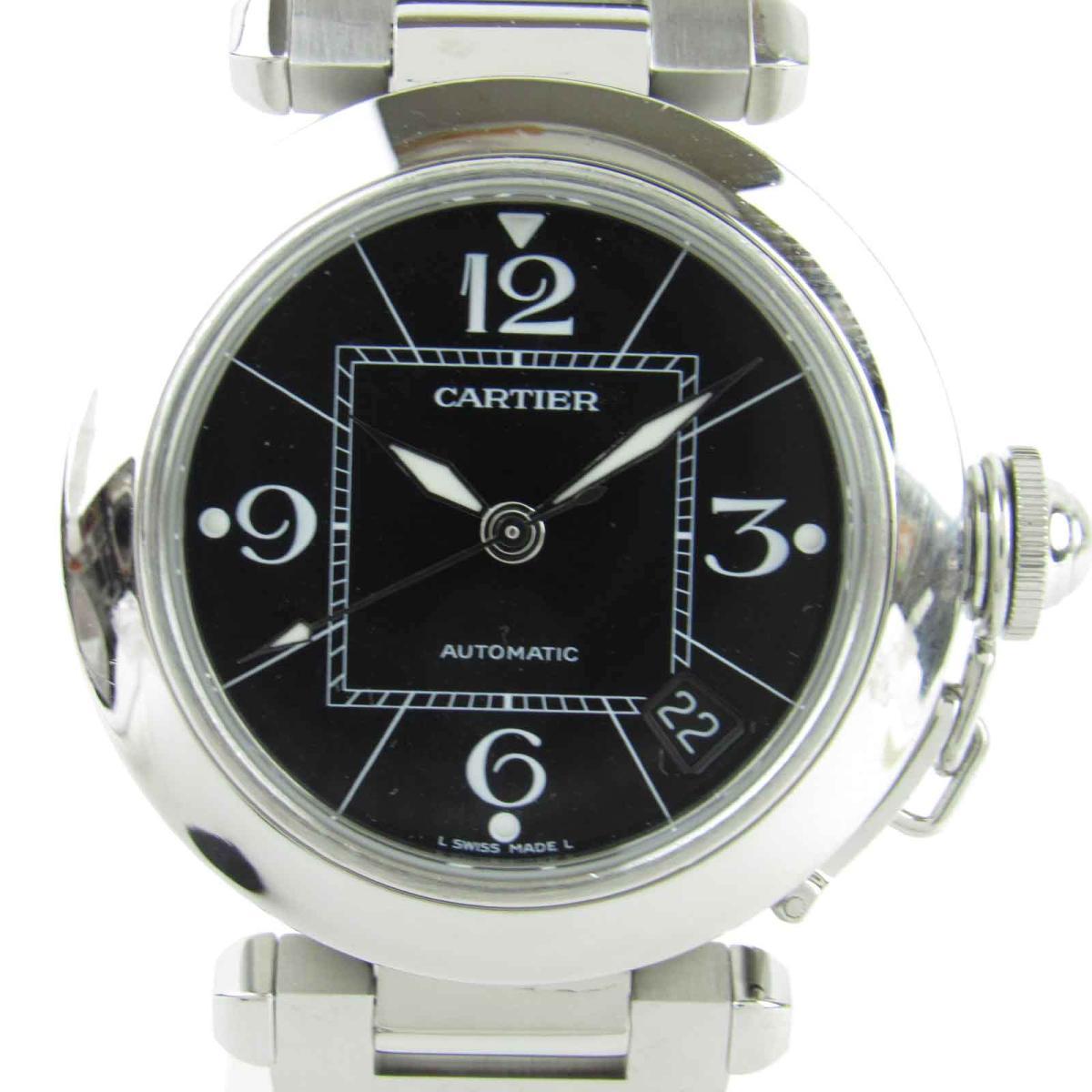【中古】 カルティエ パシャC ウォッチ 腕時計 メンズ レディース ステンレススチール (SS) (W31076M7) | Cartier オートマチック 自動巻き 時計 パシャC 美品 ブランドオフ