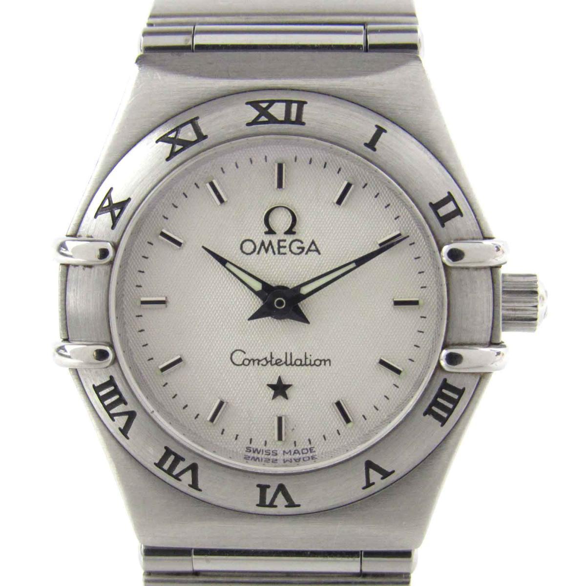 【中古】 オメガ コンステレーション ミニ 腕時計 ウォッチ レディース ステンレススチール (SS) (1562.30)   OMEGA コンステレーション ミニ 美品 BRANDOFF ブランドオフ