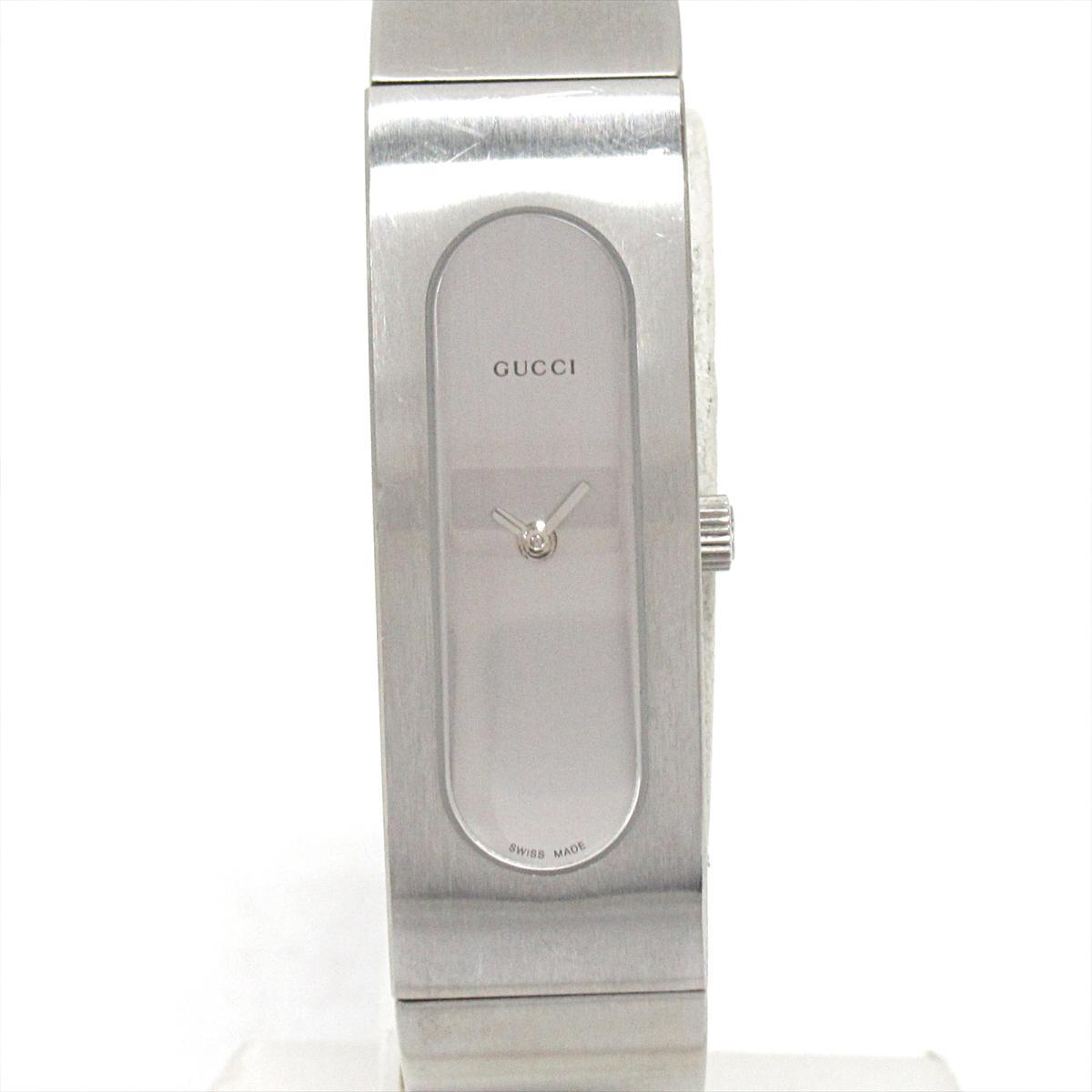 【中古】 グッチ バングルウォッチ 腕時計 レディース ステンレススチール (SS) (2400S) | GUCCI バングルウォッチ BRANDOFF ブランドオフ