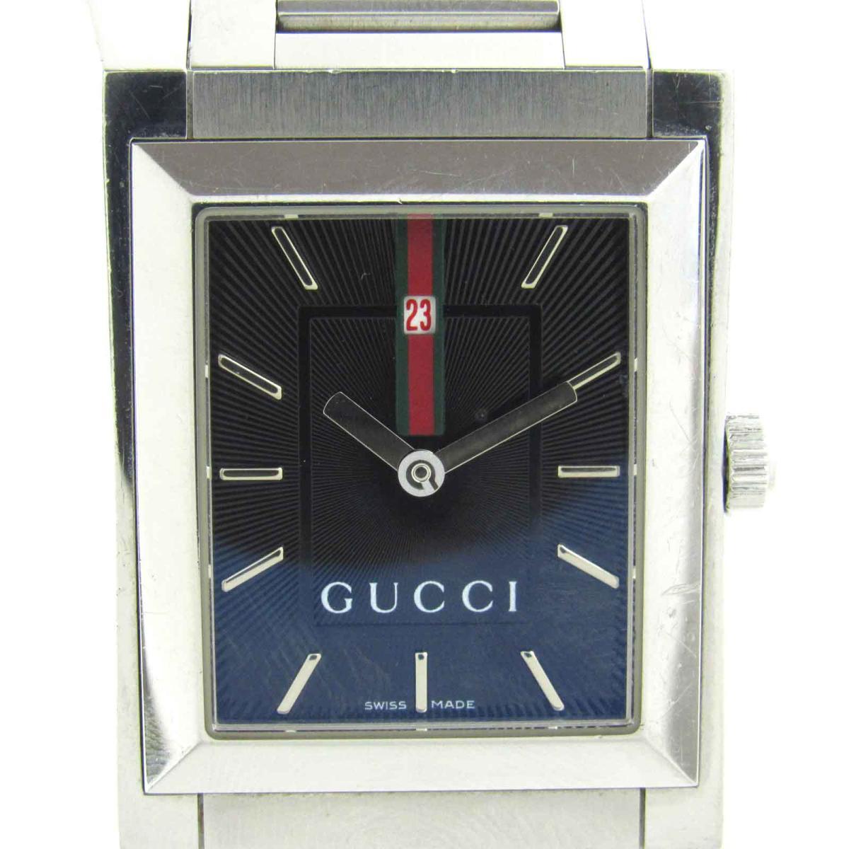 【中古】 グッチ 時計 ウォッチ 腕時計 メンズ ステンレススチール (SS) (111M) | GUCCI クオーツ クォーツ 時計 時計 美品 ブランドオフ