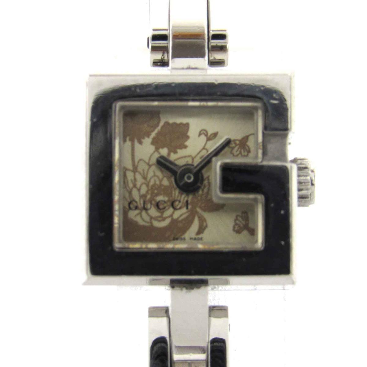 【中古】 グッチ 時計 ウォッチ 腕時計 レディース ステンレススチール (SS) (YA102) | GUCCI クオーツ クォーツ 時計 時計 美品 ブランドオフ BRANDOFF