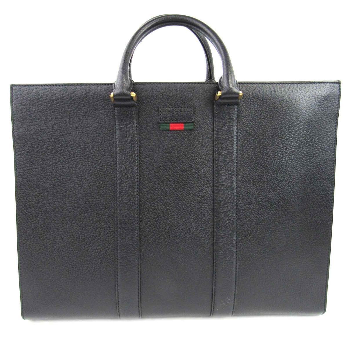 【中古】 グッチ 2WAY ショルダーバッグ メンズ レザー ブラック (429036) | GUCCI ショルダーバック ショルダー 肩がけ バッグ バック BAG カバン 鞄 ブランドバッグ ブランドバック 美品 ブランドオフ