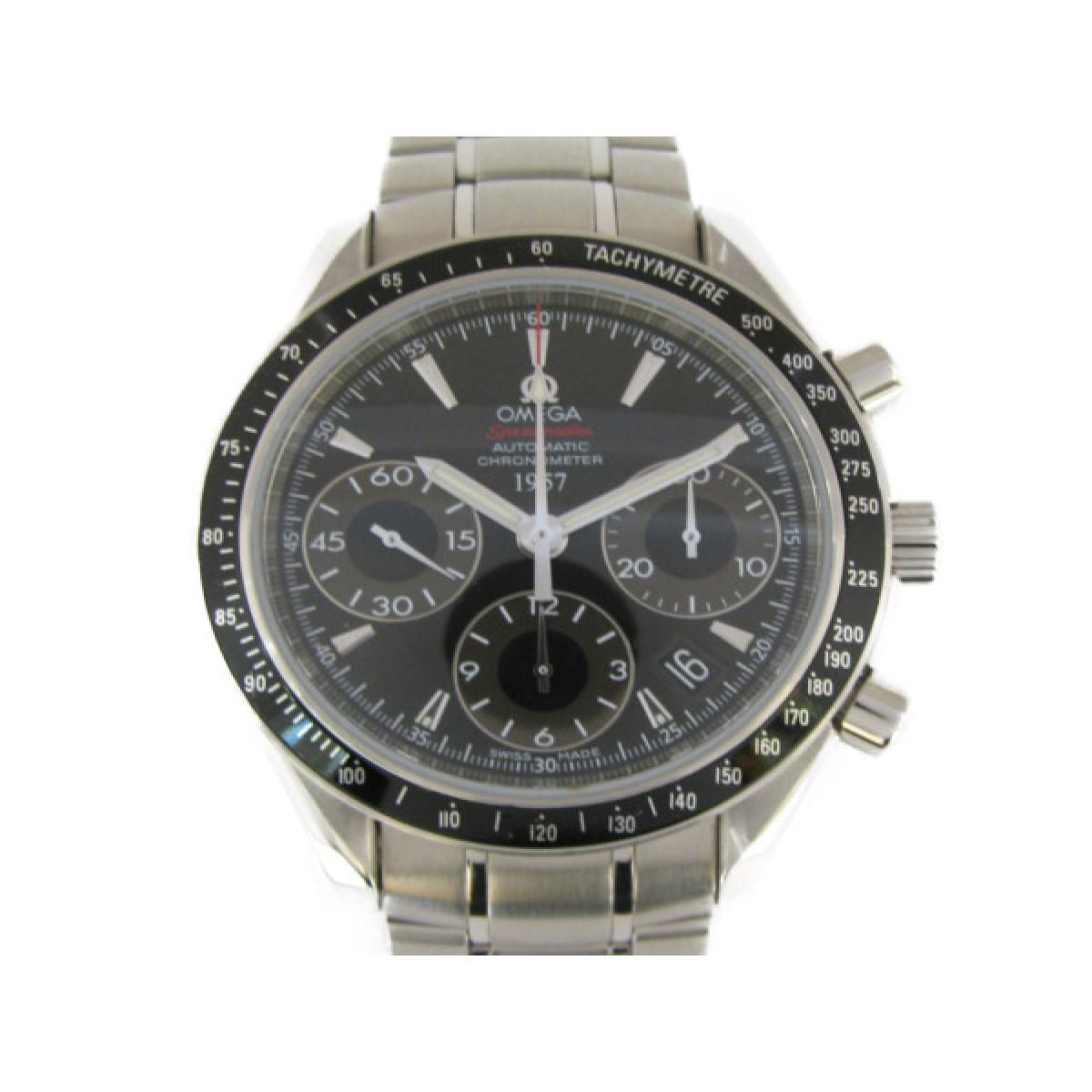 【中古】 オメガ スピードマスター デイト 腕時計 ウォッチ メンズ ステンレススチール (SS) (323.30.40.40.01.001) | OMEGA オートマチック 自動巻き 時計 スピードマスター デイト SS メンズ 美品 ブランドオフ