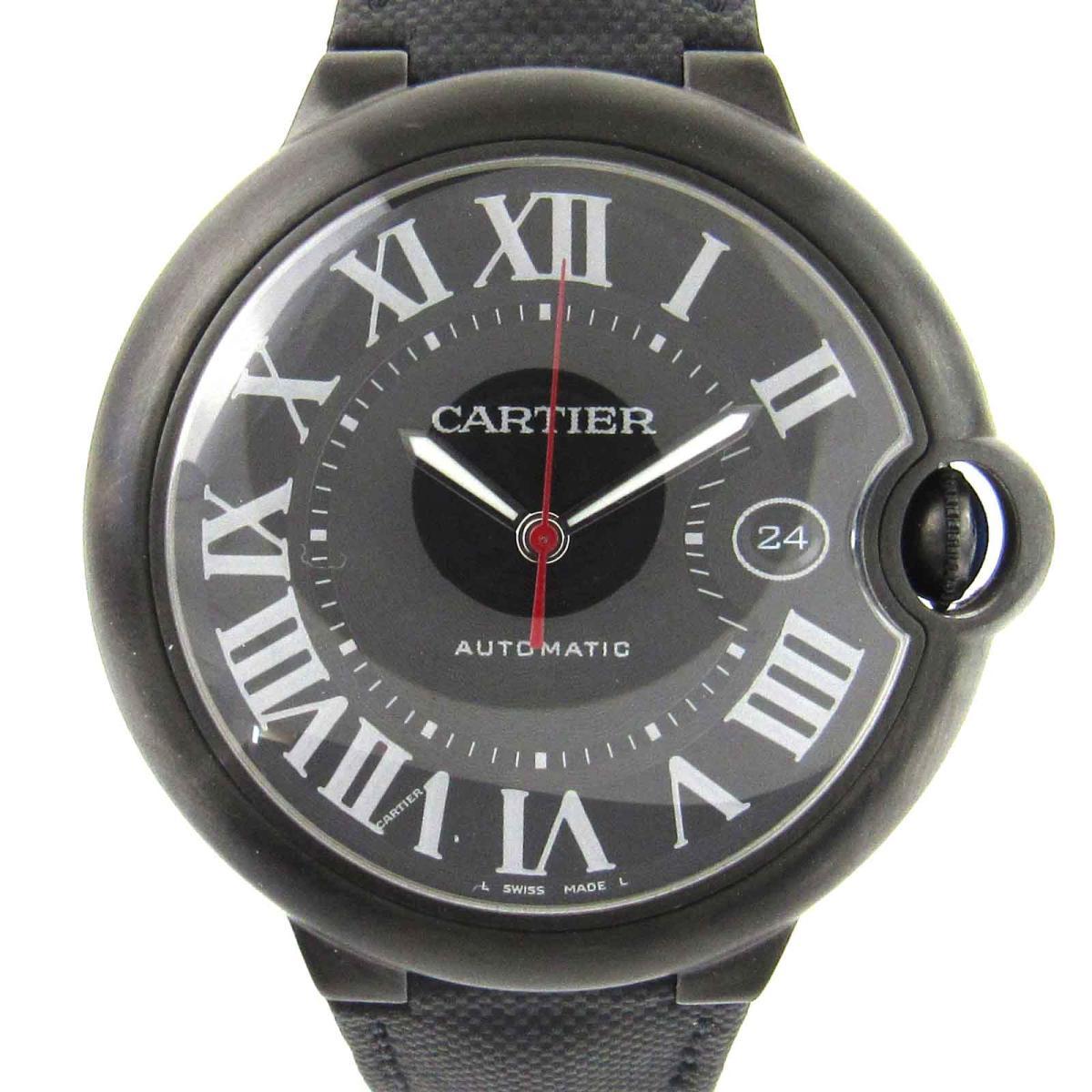 【中古】 カルティエ バロンブルー ウォッチ 腕時計 メンズ ステンレススチール (SS) x レザー (WSBB0015) | Cartier オートマチック 自動巻き 時計 バロンブルー 美品 ブランドオフ