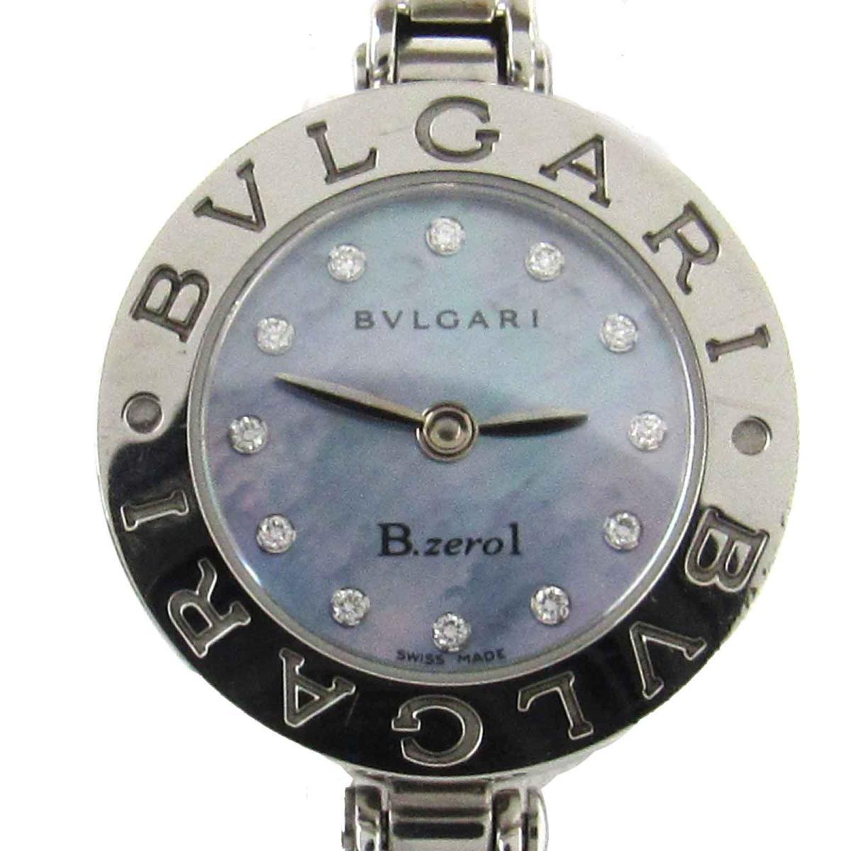 【中古】 ブルガリ B-zero1 ビーゼロワン 12Pダイヤモンド ウォッチ 腕時計 レディース ステンレススチール (SS) x ダイヤモンド (BZ22S) | BVLGARI BRANDOFF ブランドオフ ブランド ブランド時計 ブランド腕時計 時計
