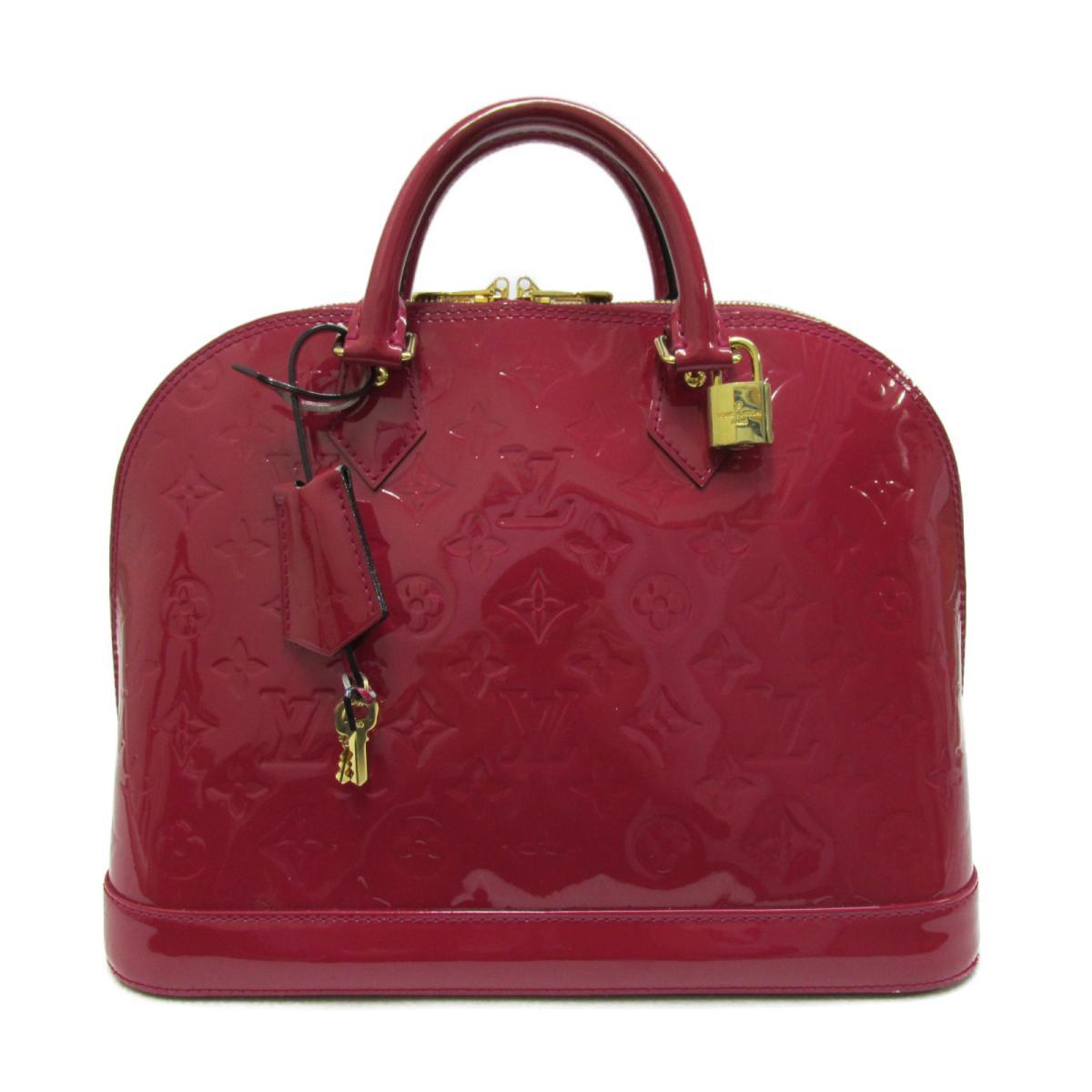 【中古】 ルイヴィトン アルマPM ハンドバッグ レディース ヴェルニ ローズアンディアン (M91770)   LOUIS VUITTON ヴィトン ビトン ルイ・ヴィトン ハンドバック バッグ バック BAG カバン 鞄 ブランドバッグ ブランドバック 美品 ブランドオフ