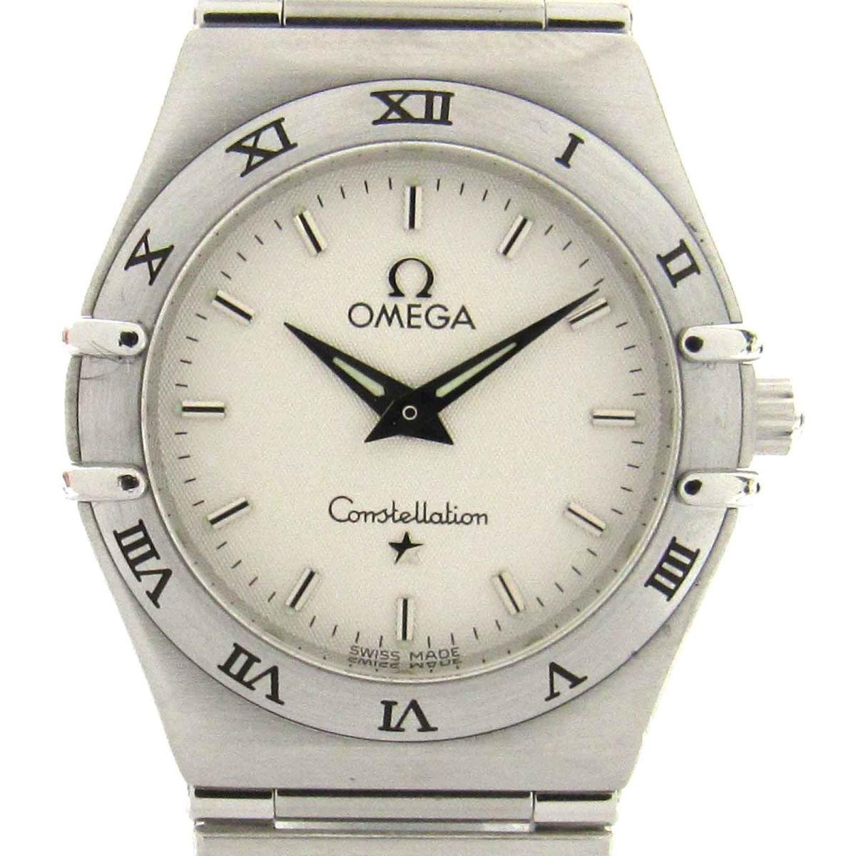 【中古】 オメガ コンステレーション ウォッチ 腕時計 レディース ステンレススチール (SS) | OMEGA クオーツ クォーツ 時計 コンステレーション 美品 ブランドオフ