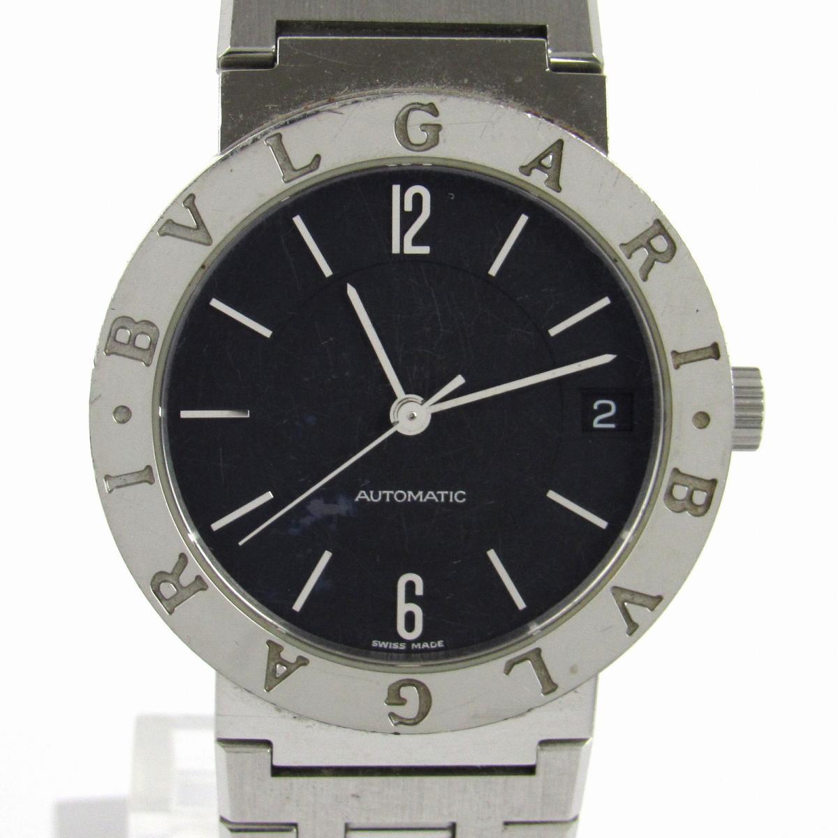 【中古】 ブルガリ ウォッチ 腕時計 メンズ レディース ステンレススチール (SS) (BB33SSD) | BVLGARI クオーツ クォーツ 時計 ブルガリ ブルガリ 美品 ブランドオフ