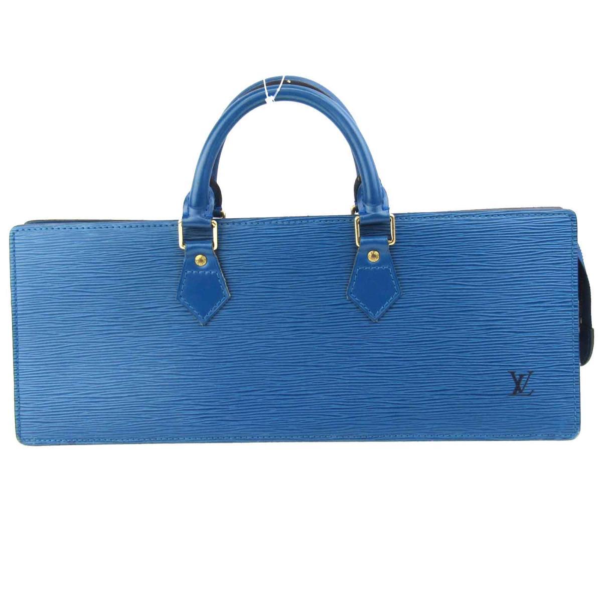 【中古】 ルイヴィトン サック・トリアングル ハンドバッグ レディース エピ ブルー (M52095)   LOUIS VUITTON ヴィトン ビトン ルイ・ヴィトン ハンドバック バッグ バック BAG カバン 鞄 ブランドバッグ ブランドバック 美品 ブランドオフ
