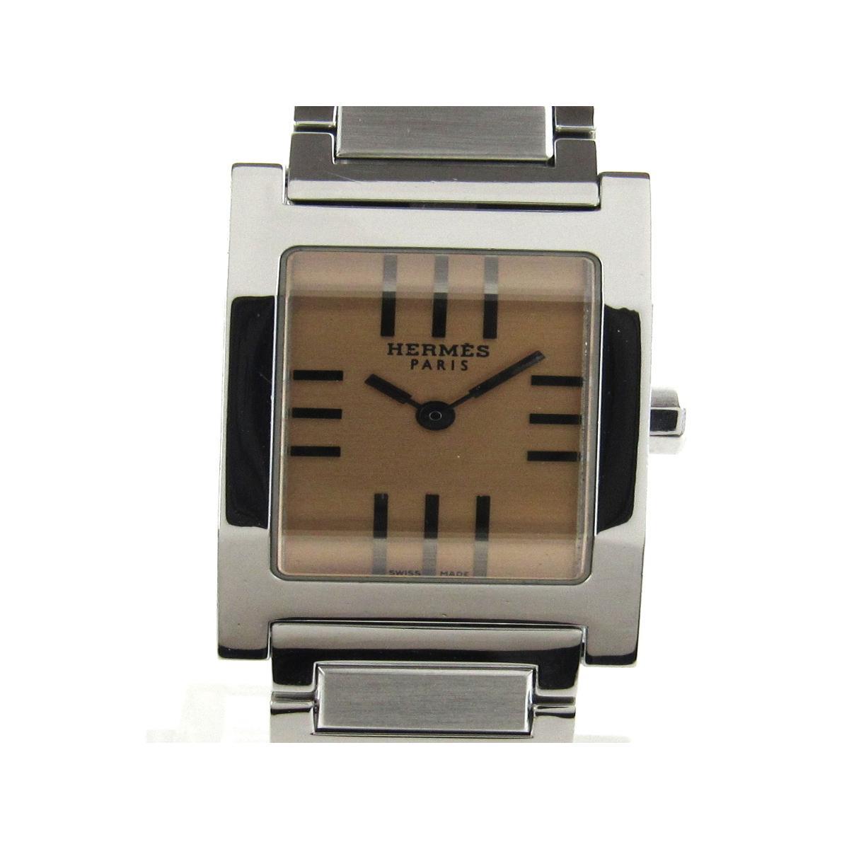 【中古】 エルメス タンデム ウォッチ 腕時計 レディース ステンレススチール (SS) (TA1.210) | HERMES クオーツ クォーツ 時計 タンデム 美品 ブランドオフ