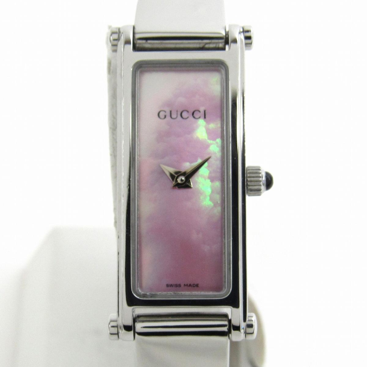 【中古】 グッチ ウォッチ 腕時計 レディース ステンレススチール (SS) (1500L) | GUCCI クオーツ クォーツ 時計 時計 美品 ブランドオフ BRANDOFF