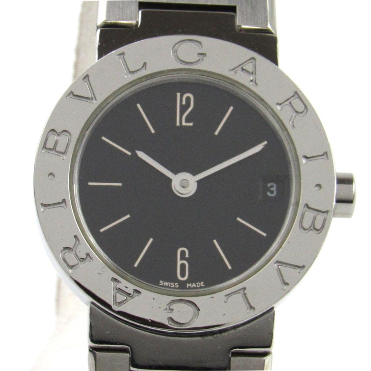 【中古】 ブルガリ ウォッチ 腕時計 レディース ステンレススチール (SS) (BB23SS) | BVLGARI クオーツ クォーツ 時計 ブルガリ ブルガリ 美品 ブランドオフ
