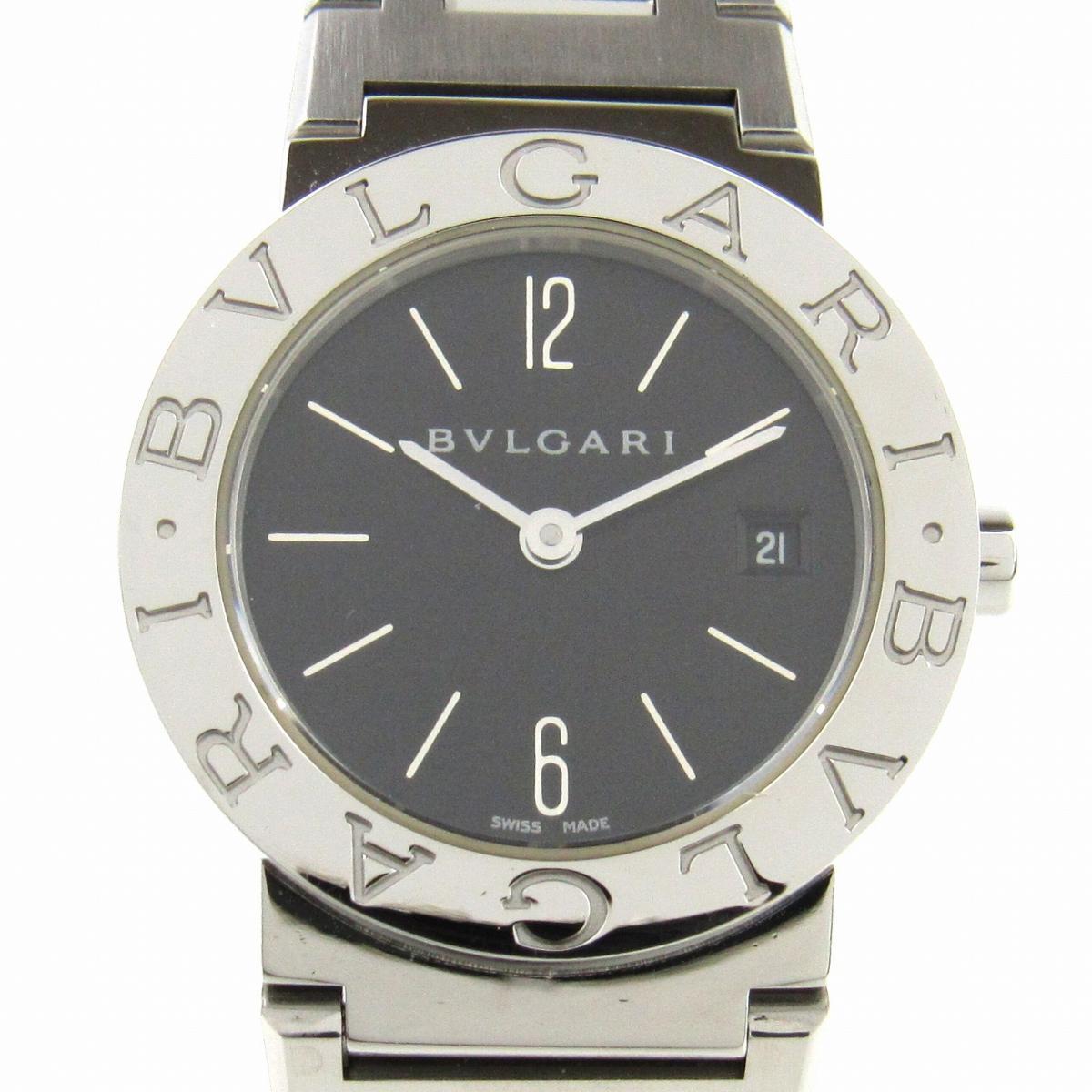 【中古】 ブルガリ ウォッチ 腕時計 レディース ステンレススチール (SS) (BB26SS) | BVLGARI クオーツ クォーツ 時計 ブルガリ ブルガリ 美品 ブランドオフ
