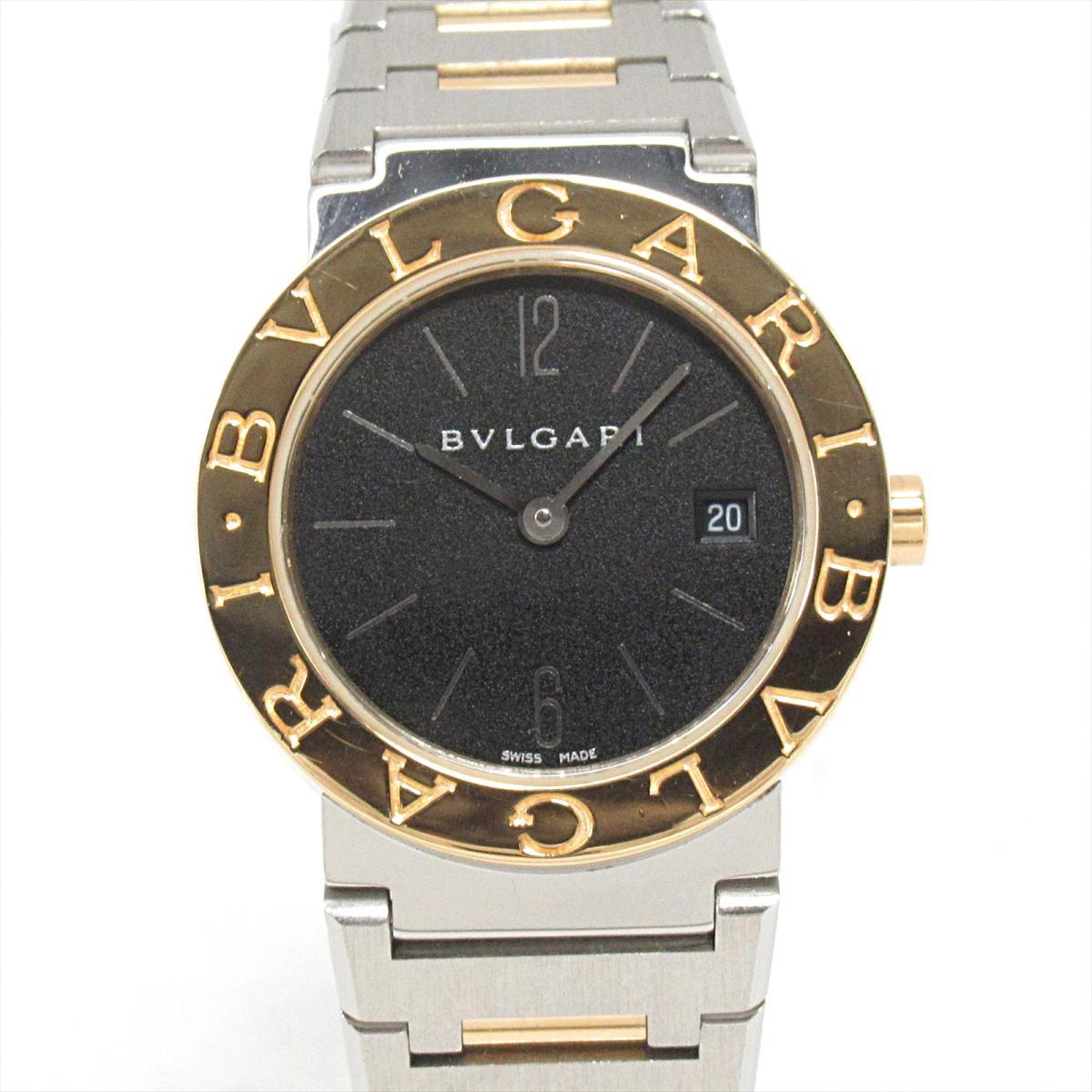 【中古】 ブルガリ ブルガリブルガリ 腕時計 ウォッチ レディース ステンレススチール (SS) x K18YG (イエローゴールド) (BB26SG)   BVLGARI クオーツ クォーツ 時計 ブルガリ ブルガリ K18 18金 ブランドオフ