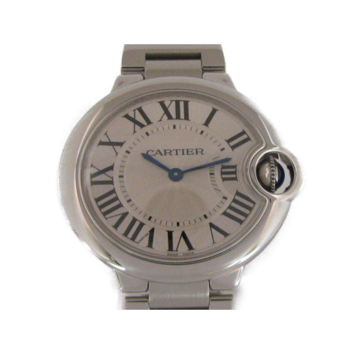 2b46465f2d カルティエ バロンブルーMM 腕時計 ウォッチ メンズ レディース ステンレススチール (SS) | Cartier クオーツ