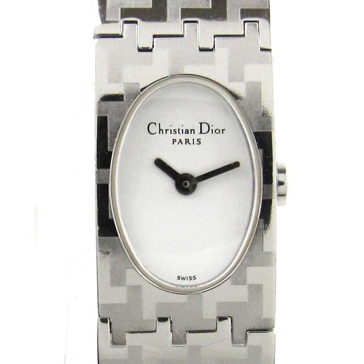 【中古】 クリスチャン・ディオール ミスディオール ウォッチ 腕時計 レディース ステンレススチール (SS) (D70-100) | Dior クオーツ クォーツ 時計 時計 美品 ブランドオフ