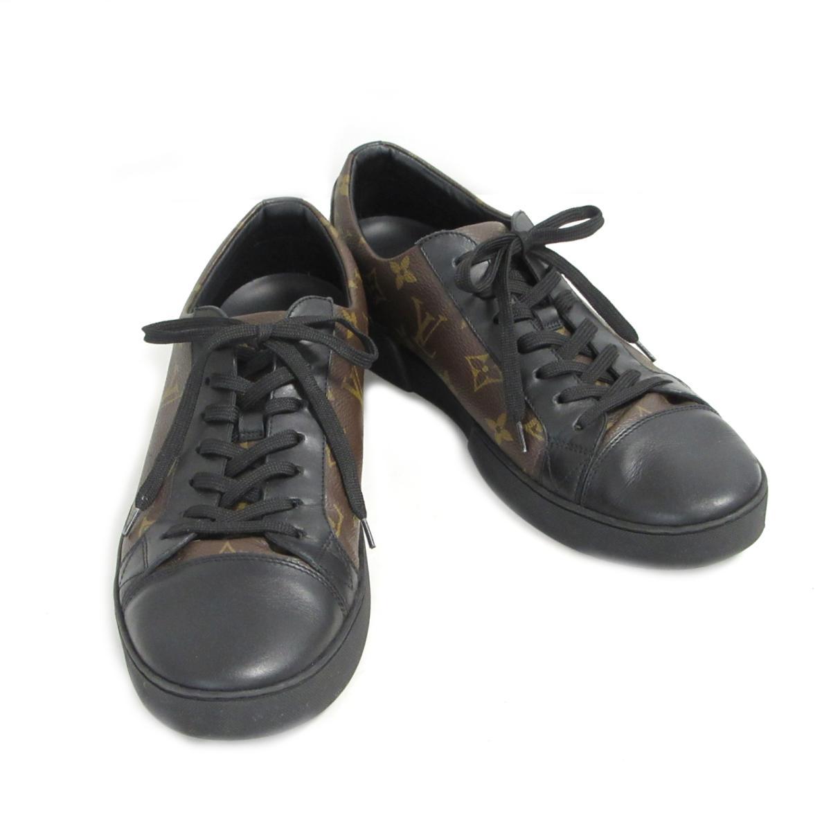 【中古】 ルイヴィトン マッチアップ・ライン スニーカー メンズ モノグラム ブラウン x ブラック (1A2 C3) | LOUIS VUITTON BRANDOFF ブランドオフ ヴィトン ビトン ルイ・ヴィトン ブランド 靴 シューズ クツ