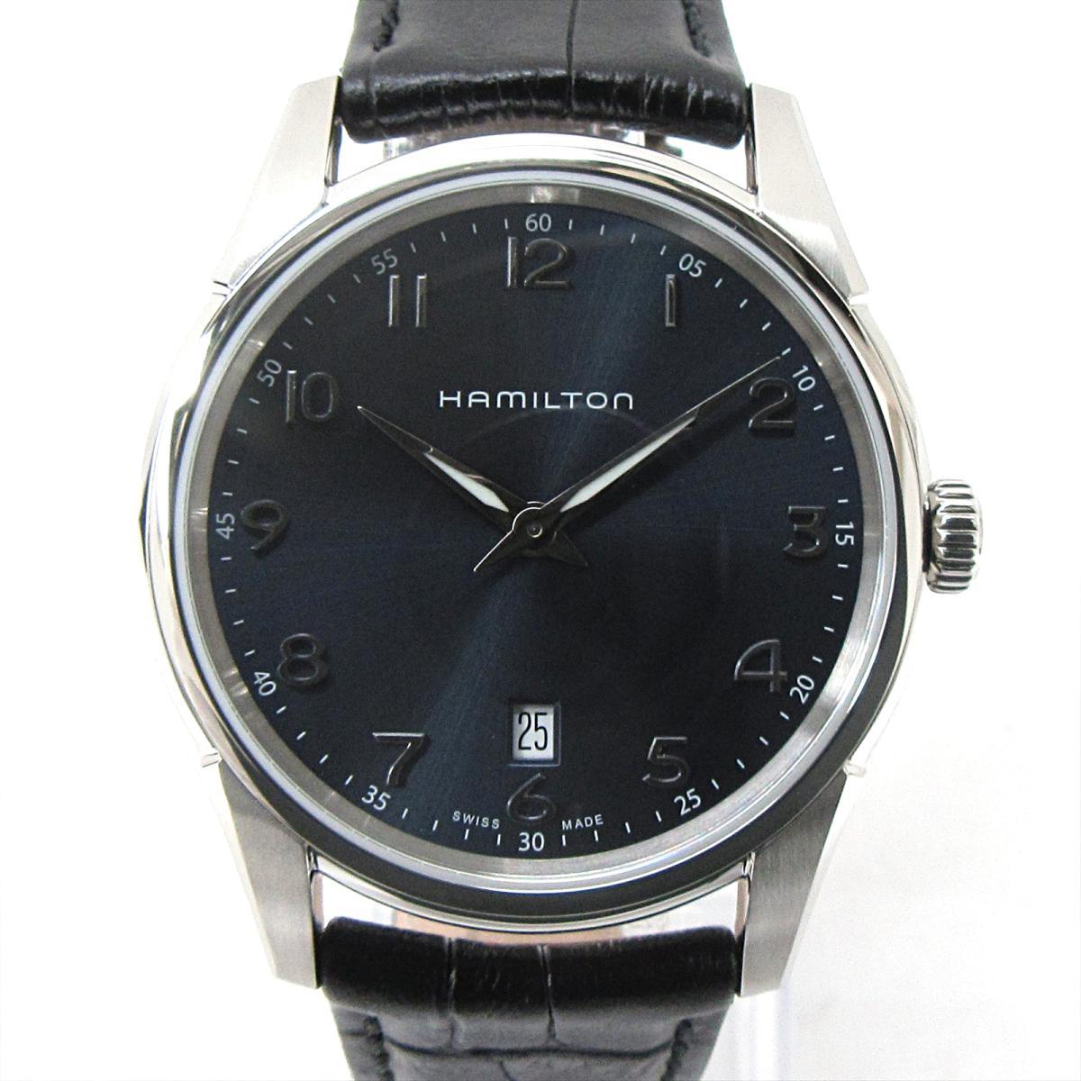 【中古】 ハミルトン ジャズマスター シンライン 腕時計 ウォッチ メンズ ステンレススチール (SS) x レザーベルト (H38511) | HAMILTON BRANDOFF ブランドオフ ブランド ブランド時計 ブランド腕時計 時計
