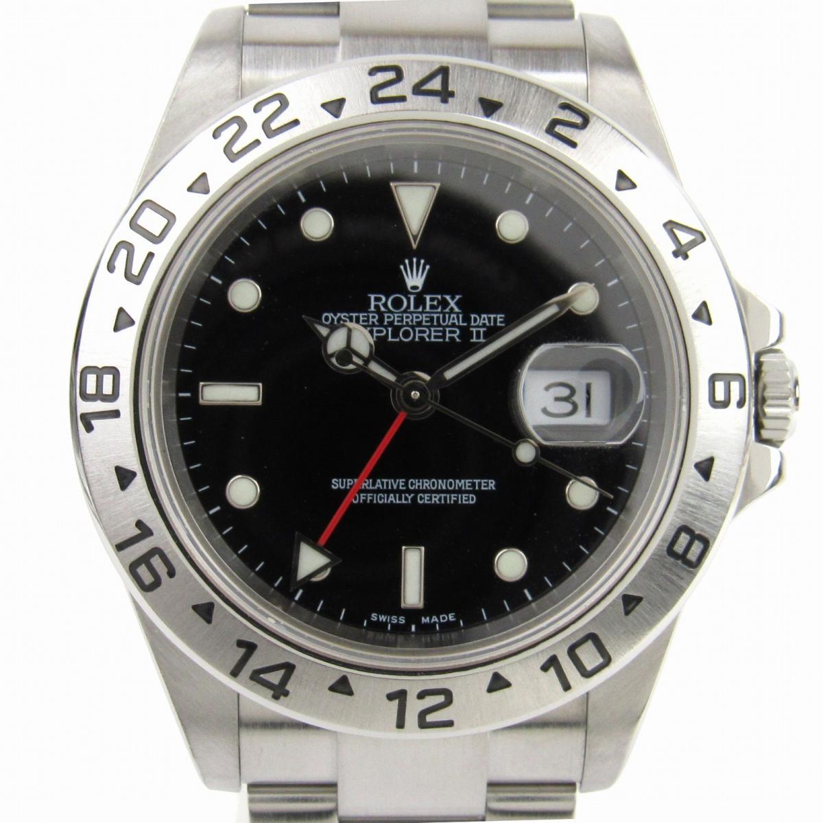 【中古】 ロレックス エクスプローラー2 ウォッチ 腕時計 メンズ ステンレススチール (SS) (16570) | ROLEX BRANDOFF ブランドオフ ブランド ブランド時計 ブランド腕時計 時計
