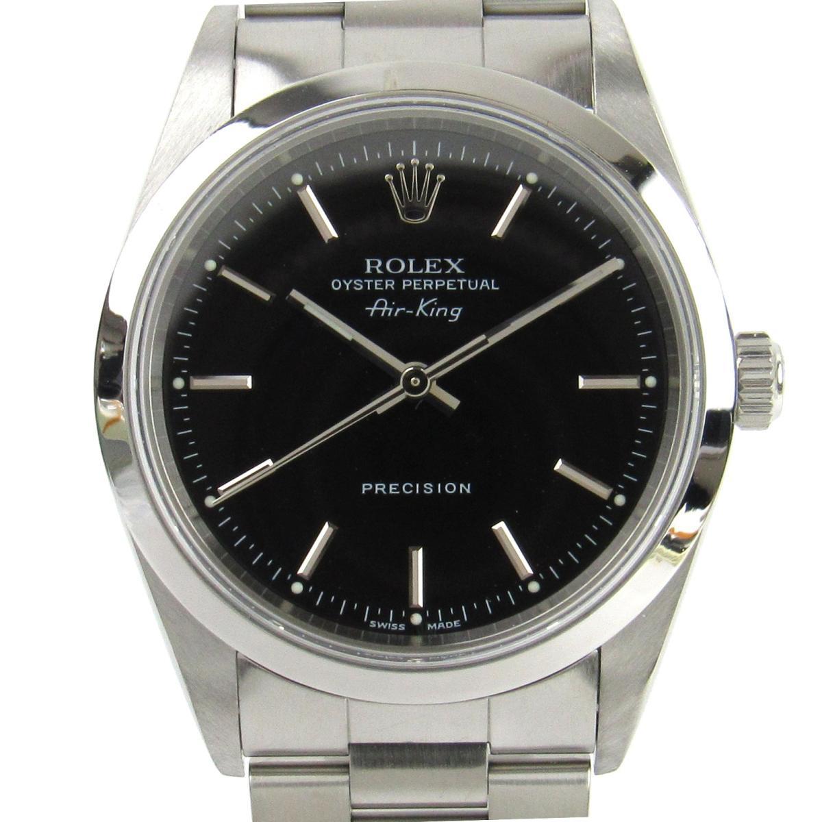 【中古】 ロレックス エアキング 腕時計 ウォッチ メンズ ステンレススチール (SS) (14000M Y番) | ROLEX BRANDOFF ブランドオフ ブランド ブランド時計 ブランド腕時計 時計