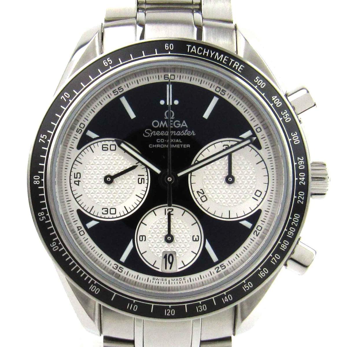 【中古】 オメガ スピードマスター レーシング ウォッチ 腕時計 メンズ ステンレススチール (SS) (326.30.40.50.01.002)   OMEGA BRANDOFF ブランドオフ ブランド ブランド時計 ブランド腕時計 時計
