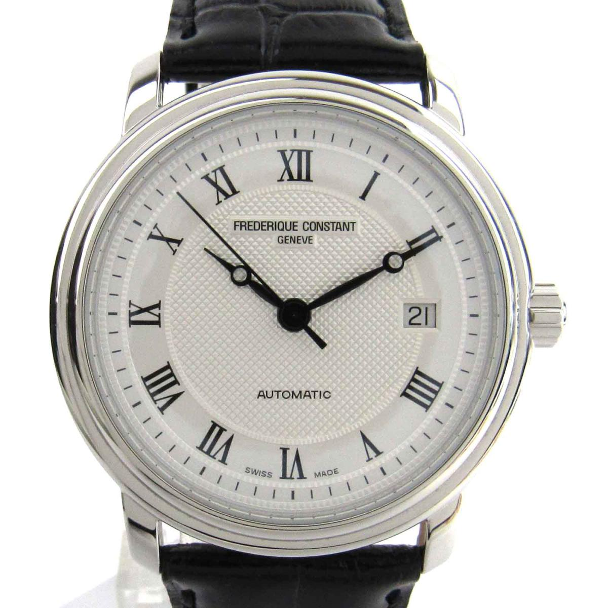 【中古】 フレデリック・コンスタント クラシック ウォッチ 腕時計 メンズ ステンレススチール (SS) x クロコレザー (FC303.310.315X4P24)   FREDERIQUE CONSTANT BRANDOFF ブランドオフ ブランド ブランド時計 ブランド腕時計 時計