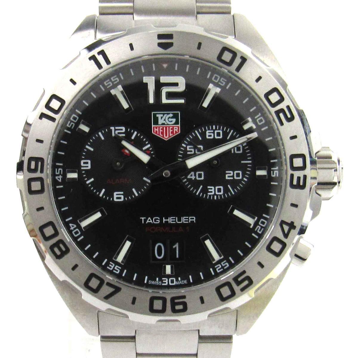 【中古】 タグ・ホイヤー フォーミュラ1 ウォッチ 腕時計 メンズ ステンレススチール (SS) (WAZ111A) | TAG HEUER BRANDOFF ブランドオフ ブランド ブランド時計 ブランド腕時計 時計