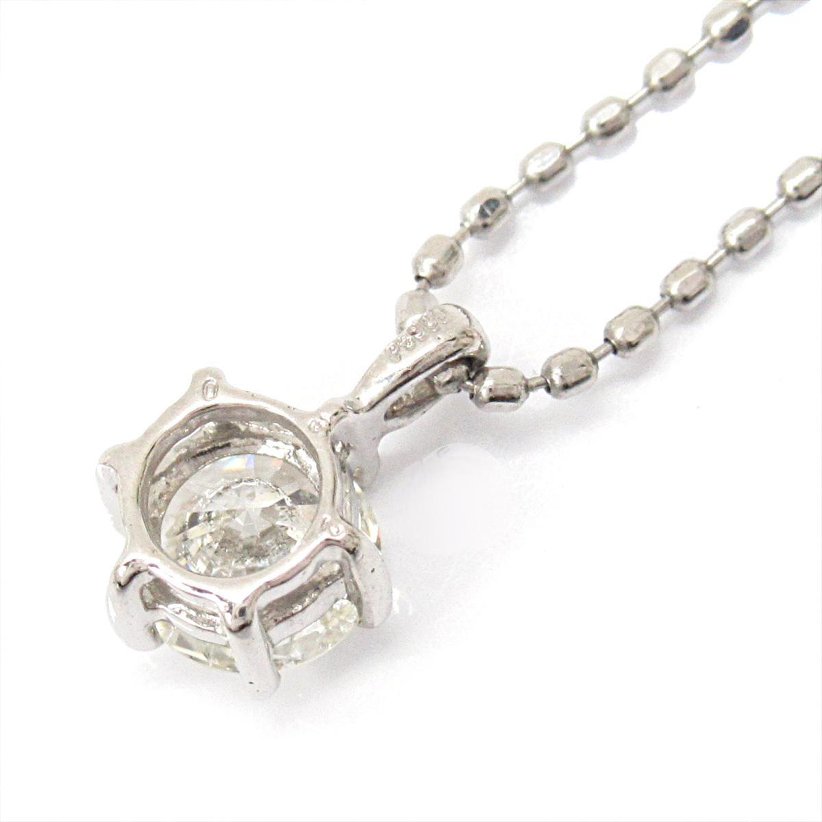 ジュエリー ダイヤモンドネックレス レディース PT900 プラチナxPT850 (プラチナ)xダイヤモンド (0.32ct) | JEWELRY BRANDOFF ブランドオフ ブランド アクセサリー ネックレス ペンダント