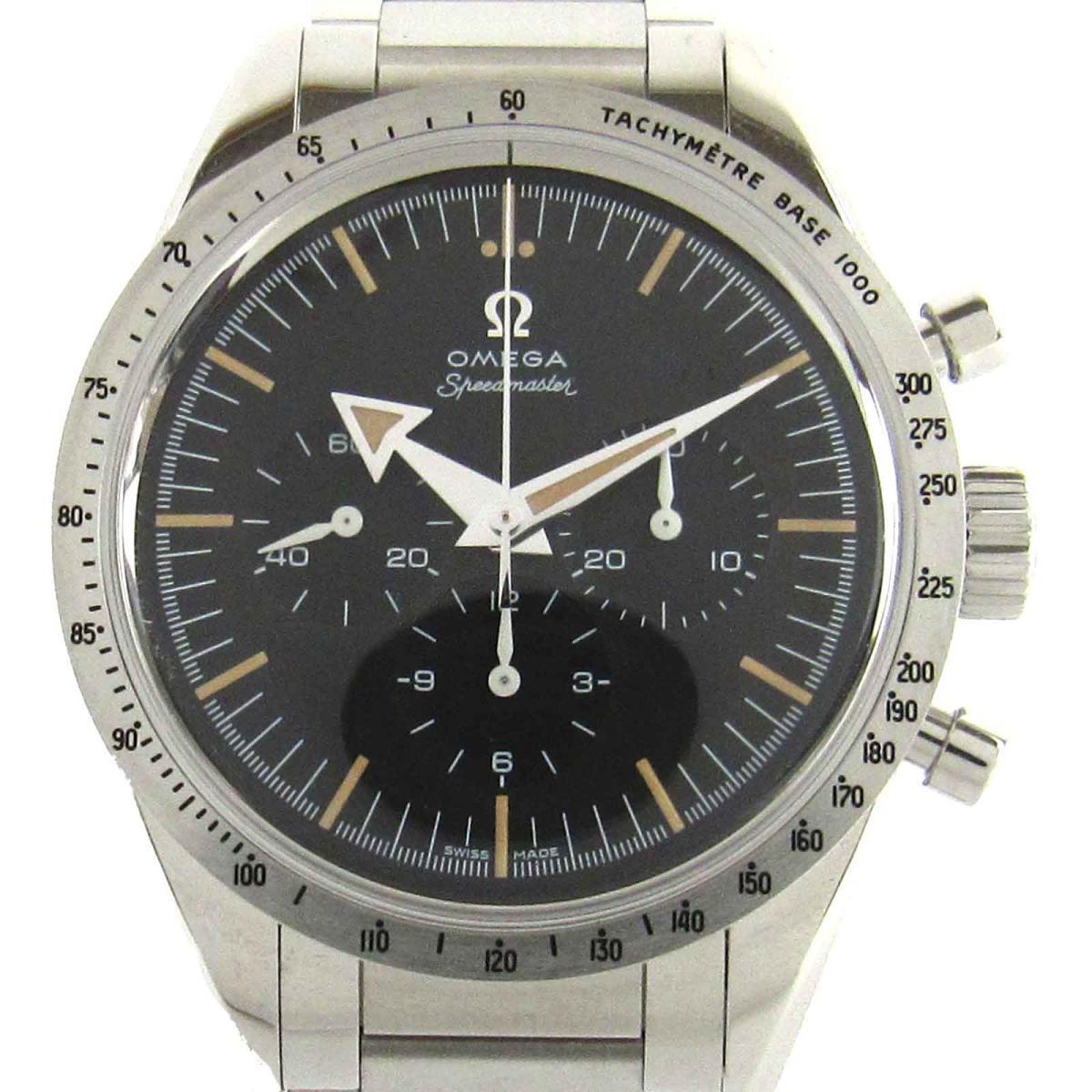 【中古】 オメガ スピードマスター'57 ウォッチ 腕時計 世界限定3557本 メンズ ステンレススチール (SS) (311.10.39.30.01.001) | OMEGA BRANDOFF ブランドオフ ブランド ブランド時計 ブランド腕時計 時計