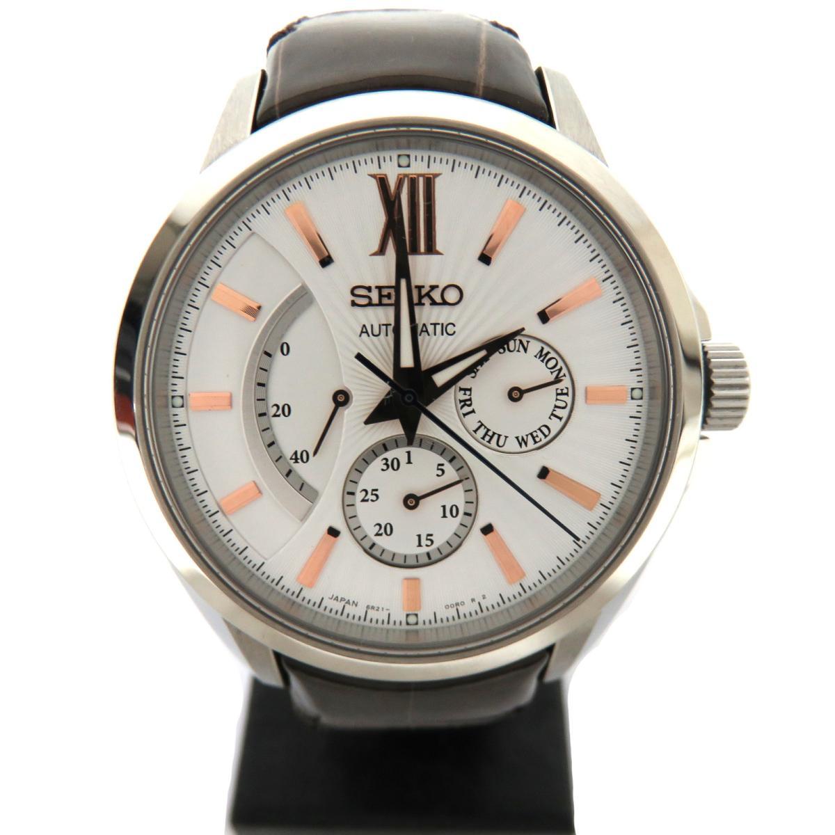 【中古】 セイコー ブライツ メンズ腕時計 メンズ レザーベルト ホワイト (SDGC025) | SEIKO BRANDOFF ブランドオフ ブランド ブランド時計 ブランド腕時計 腕時計 時計 ウォッチ