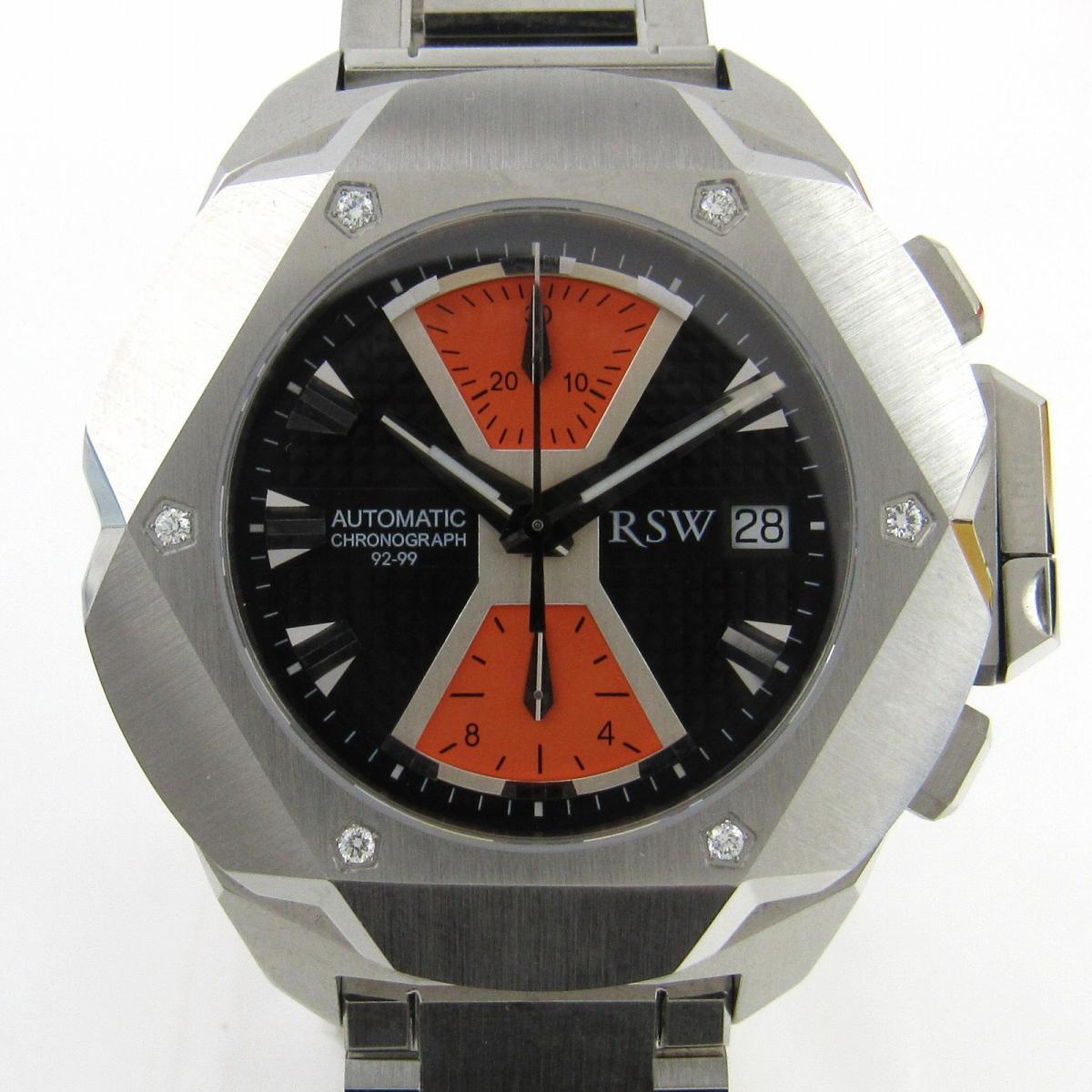【中古】 セレクション RSW 時計 裏スケ ウォッチ 腕時計 メンズ ステンレススチール (SS) (4000.MS) | SELECTION BRANDOFF ブランドオフ ブランド ブランド時計 ブランド腕時計
