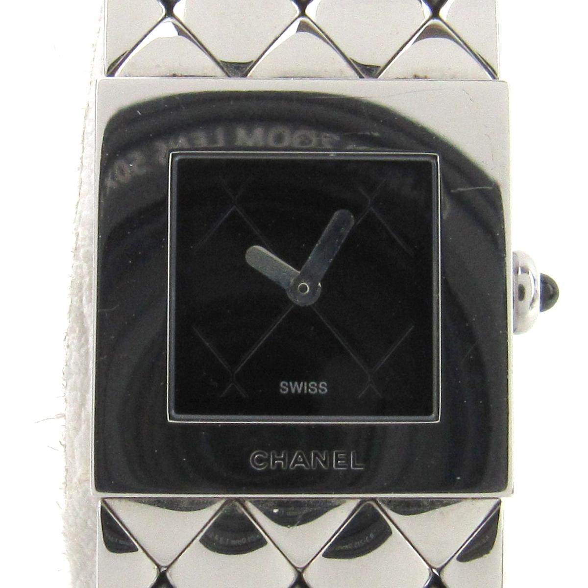 【中古】 シャネル マトラッセ ウォッチ 腕時計 レディース ステンレススチール (SS) (H0009) | CHANEL BRANDOFF ブランドオフ ブランド ブランド時計 ブランド腕時計 時計