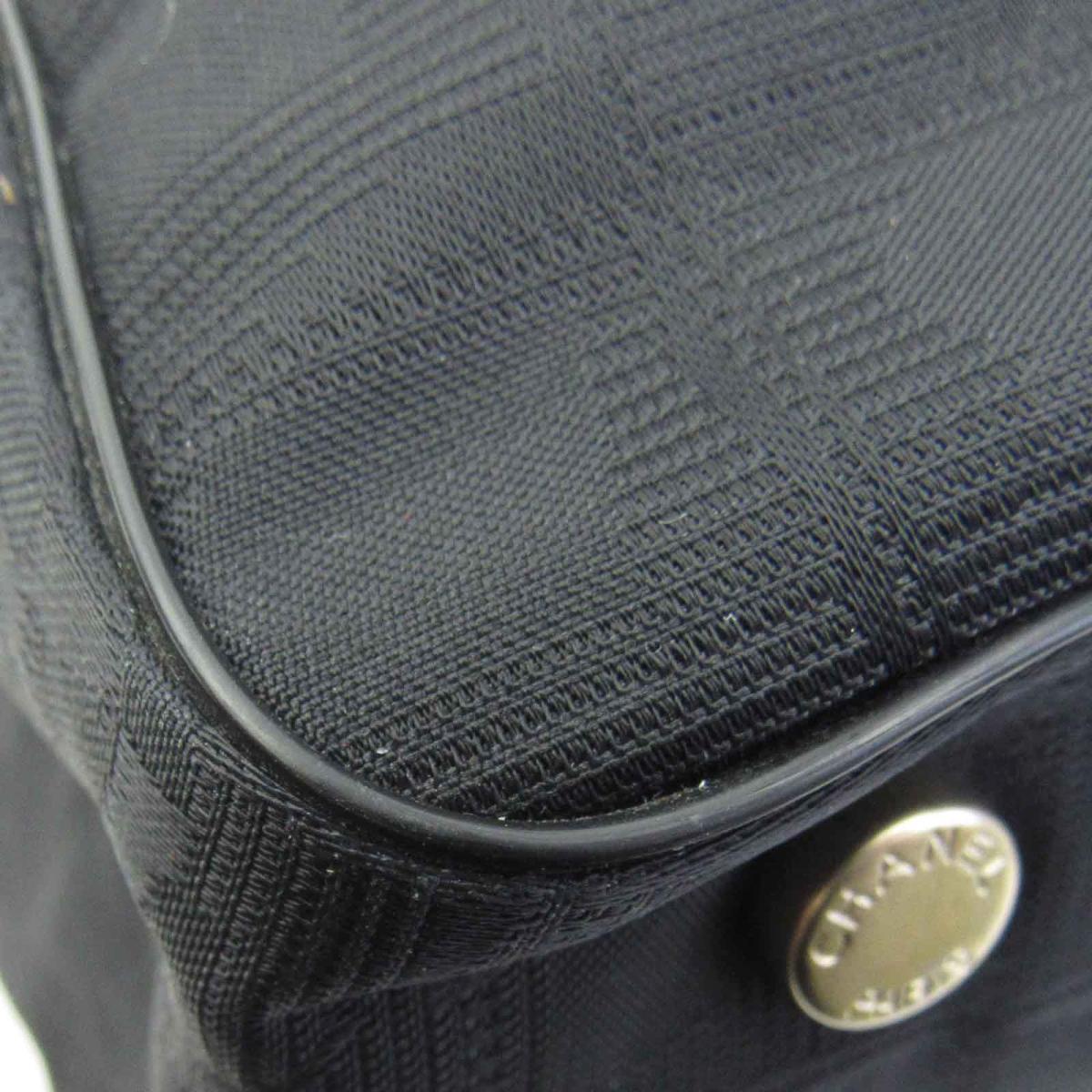 シャネル ニュートラベルライントートPM トートバッグ レディース ナイロンジャガード x レザー ブラックA20457CHANEL BRANDOFF ブランドオフ ブランド ブランドバッグ ブランドバック かばん バッグ バック トートバック トートgyvbf7IY6