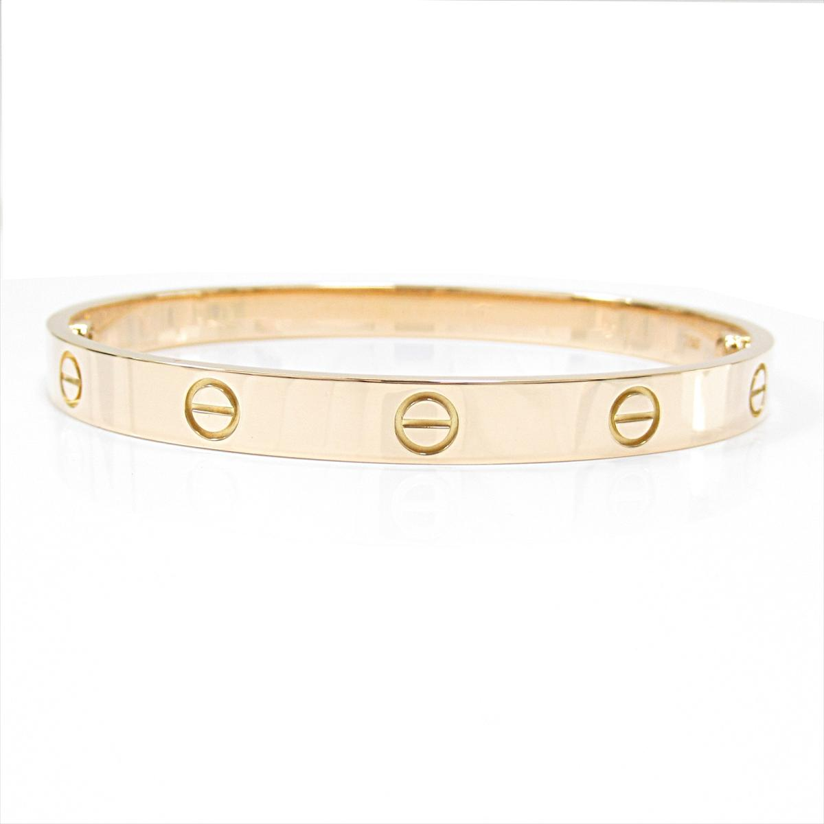 75fd497107242 BRANDOFF GINZA: Auth Cartier Love breath bracelet 18KYG (750) Yellow ...