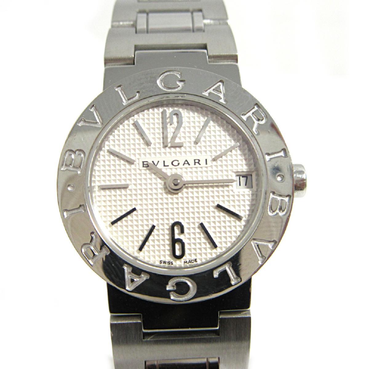 【中古】 ブルガリ ブルガリブルガリ 腕時計 ウォッチ レディース ステンレススチール (SS) (BB23WSSD)   BVLGARI BRANDOFF ブランドオフ ブランド ブランド時計 ブランド腕時計 時計