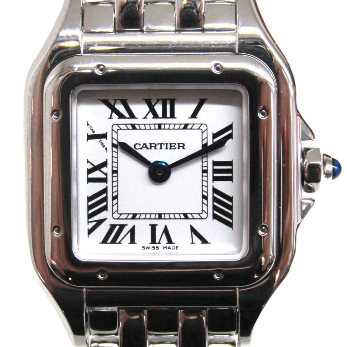 【中古】 カルティエ パンテールSM ドゥカルティエ 腕時計 ウォッチ レディース ステンレススチール (SS) (WSPN0006) | Cartier クオーツ クォーツ 時計 パンテールSM/ ドゥカルティエ 美品 ブランドオフ BRANDOFF