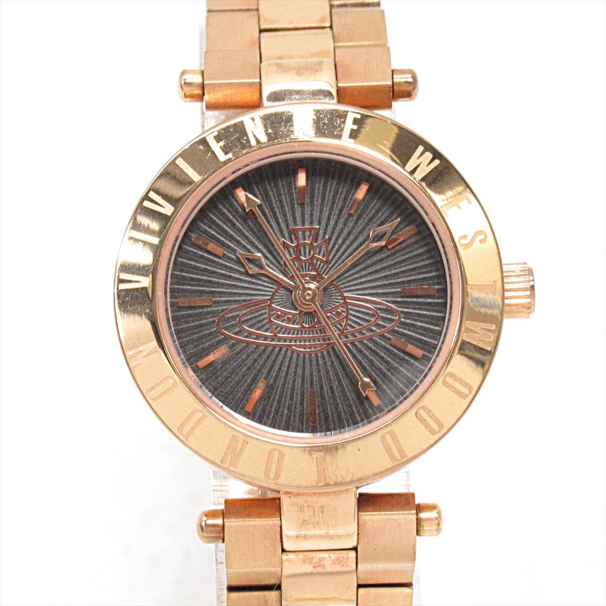 【中古】 ヴィヴィアンウエストウッド 腕時計 ウォッチ レディース ステンレススチール (SS) (VV092RS) | Vivienne Westwood クオーツ クォーツ 時計 Vivienne Westwood 時計 ブランドオフ BRANDOFF