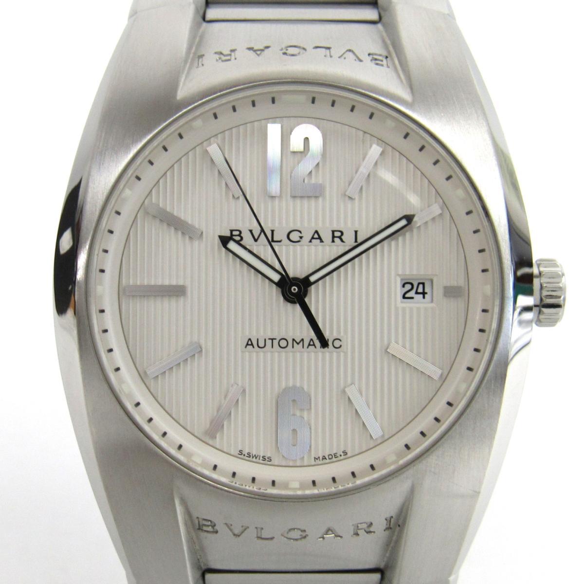 【中古】ブルガリ エルゴン ウォッチ 腕時計 メンズ ステンレススチール(SS) (EG40S)