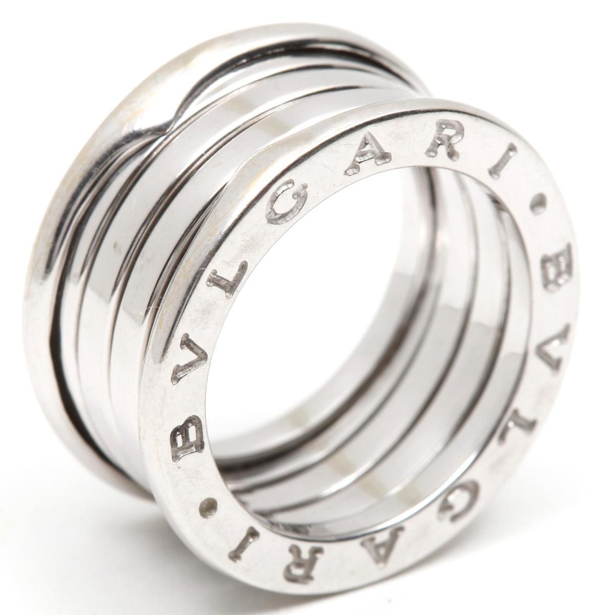 【中古】 ブルガリ B-zero1 リング Mサイズ ビーゼロワン 指輪 レディース K18WG (750) ホワイトゴールド | BVLGARI BRANDOFF ブランドオフ ブランド ジュエリー アクセサリー