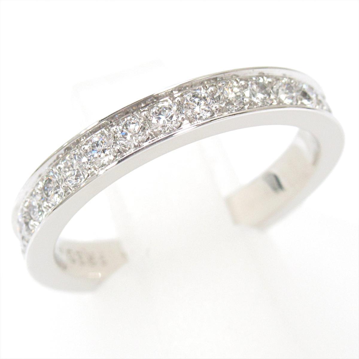 【中古】 フレッド ダイヤモンドリング 指輪 レディース PT950 プラチナ x ダイヤモンド (石目なし)   FRED BRANDOFF ブランドオフ ブランド ジュエリー アクセサリー リング