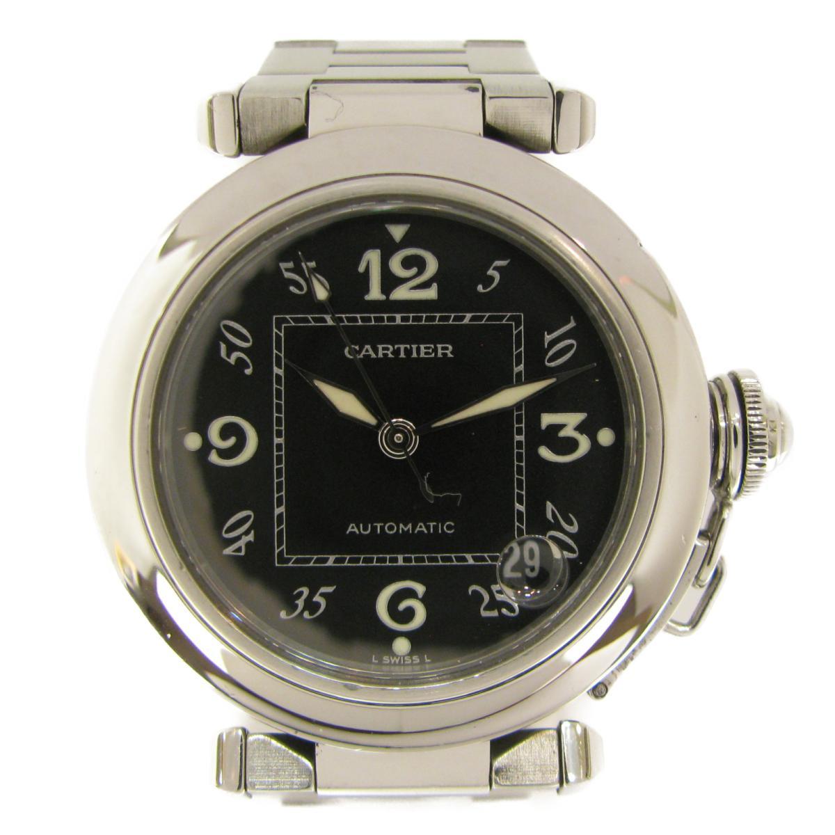 【中古】 カルティエ パシャC 腕時計 ウォッチ メンズ ステンレススチール (SS) (W31043M7) | Cartier BRANDOFF ブランドオフ ブランド ブランド時計 ブランド腕時計 時計