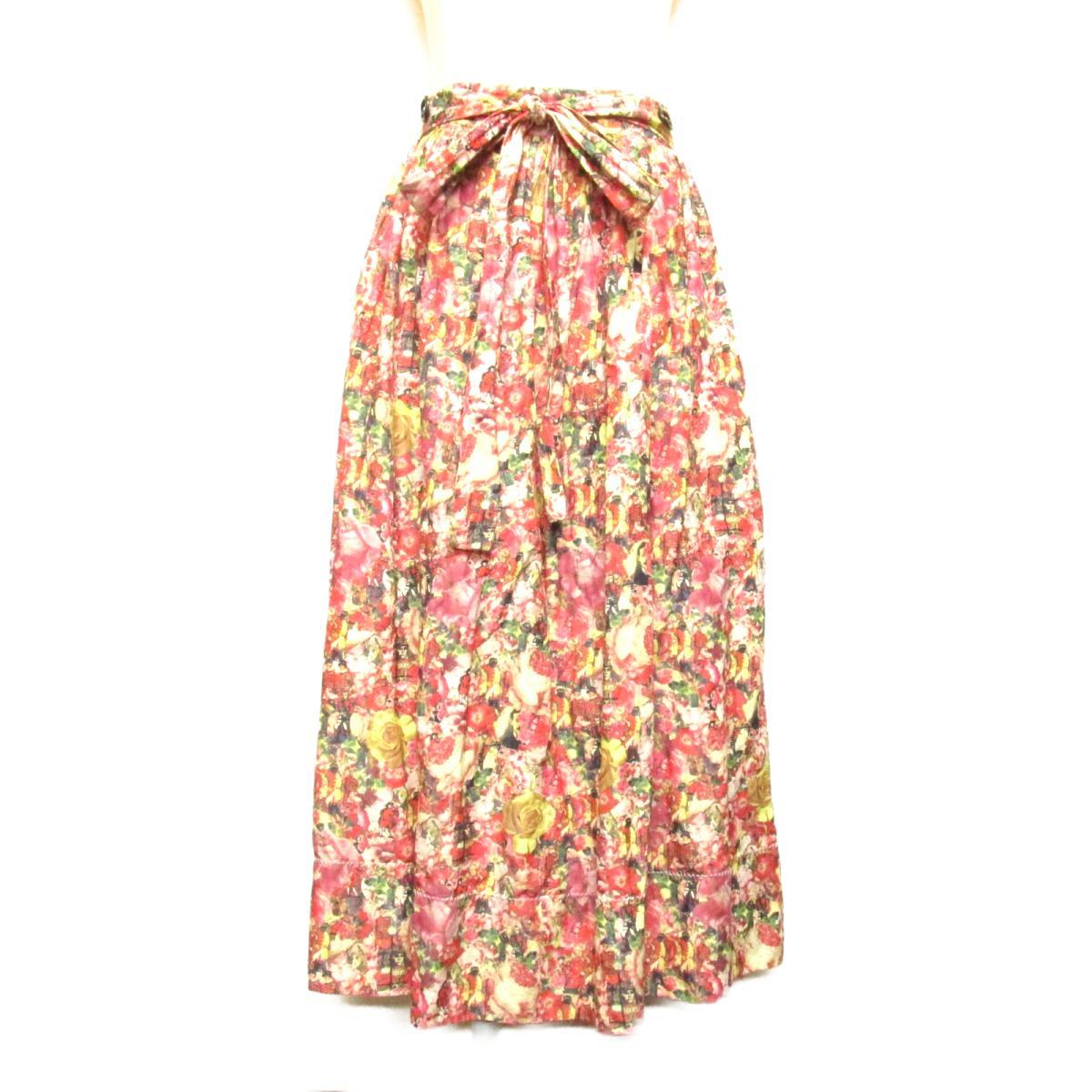 【中古】 マルニ スカート レディース ナイロン51% コットン43% 金属繊維6% マルチカラー | MARNI BRANDOFF ブランドオフ 衣料品 衣類 ブランド ボトムス