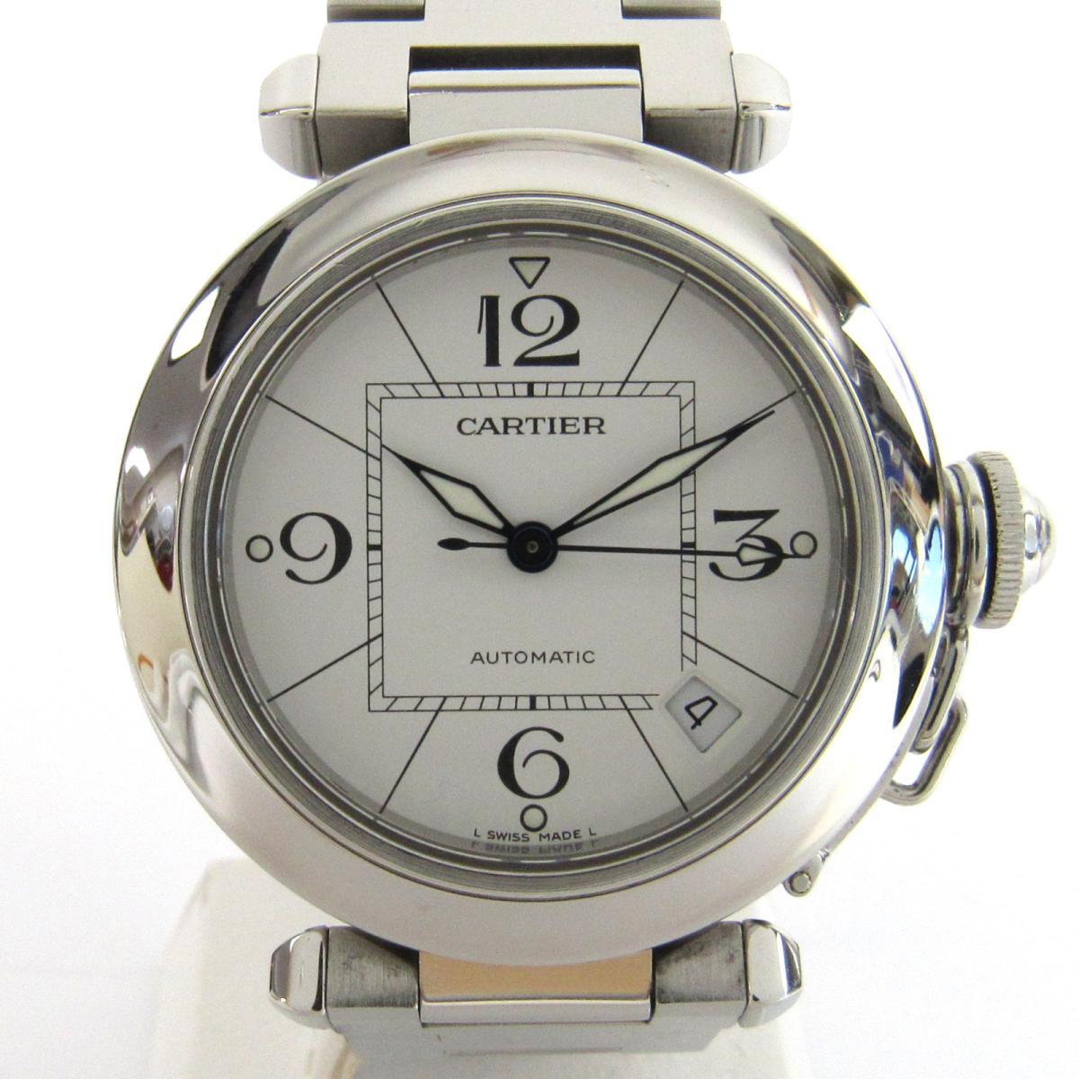 カルティエ パシャC 腕時計 ウォッチ メンズ ステンレススチール (SS) (W31074M7)   Cartier BRANDOFF ブランドオフ ブランド ブランド時計 ブランド腕時計 時計:Brandoff銀座