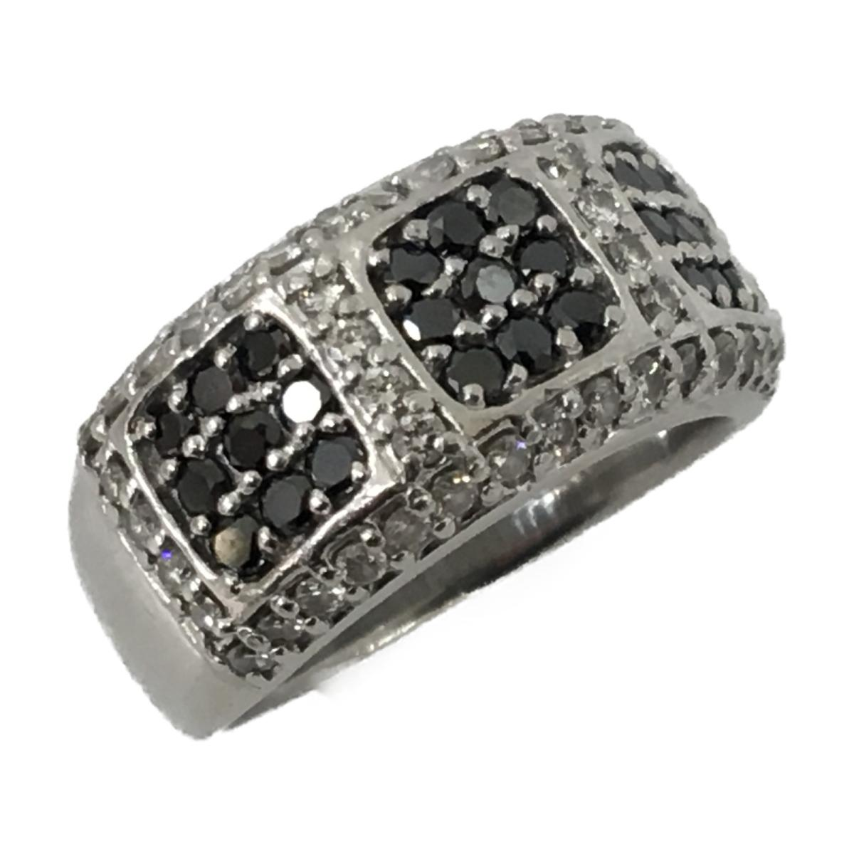 開店記念セール! 【 PT900】 ジュエリー ブラックダイヤモンド リング 指輪 メンズ リング レディース PT900 メンズ プラチナ x (0.76ct) ダイヤモンド (0.67ct)   JEWELRY BRANDOFF ブランドオフ ブランド アクセサリー, オルゴールと時計の杜のうた:1a90ba15 --- greencard.progsite.com