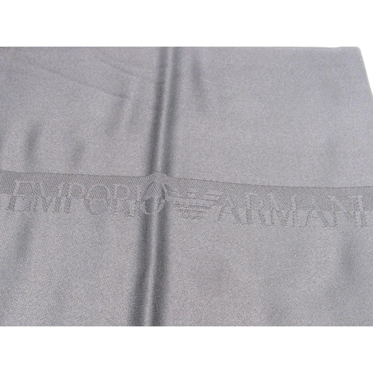 エンポリオアルマーニ マフラー メンズ ウール100% ブラック625007 BKEMPORIO ARMANI BRANDOFF ブランドオフ ブランド ストールVSzMUqp