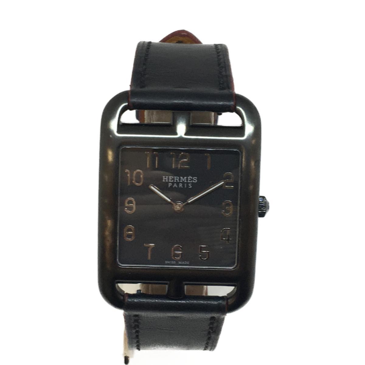 【中古】 エルメス ケープコッドGMシャドウ 腕時計 ウォッチ メンズ ステンレススチール (SS)レザー (CC3.711) | HERMES BRANDOFF ブランドオフ ブランド ブランド時計 ブランド腕時計 時計