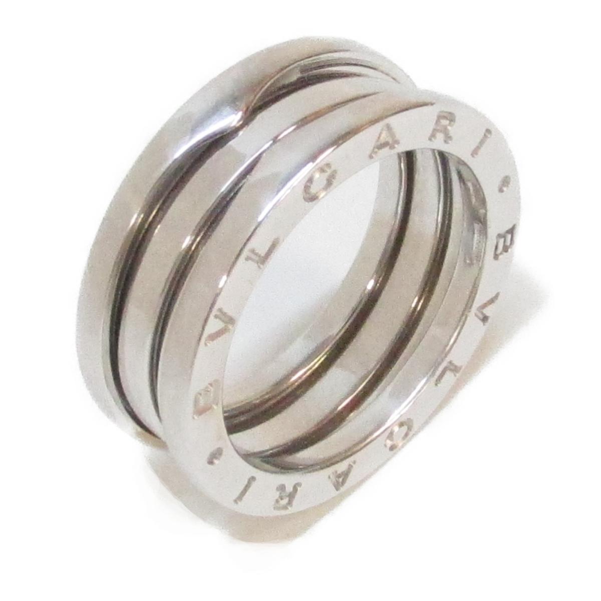 【中古】 ブルガリ B-zero1 リング Sサイズ 指輪 ビーゼロワン レディース K18WG (750) ホワイトゴールド | BVLGARI BRANDOFF ブランドオフ ブランド ジュエリー アクセサリー